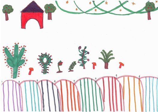 Le jardin de Lorédana selon Rachelle.