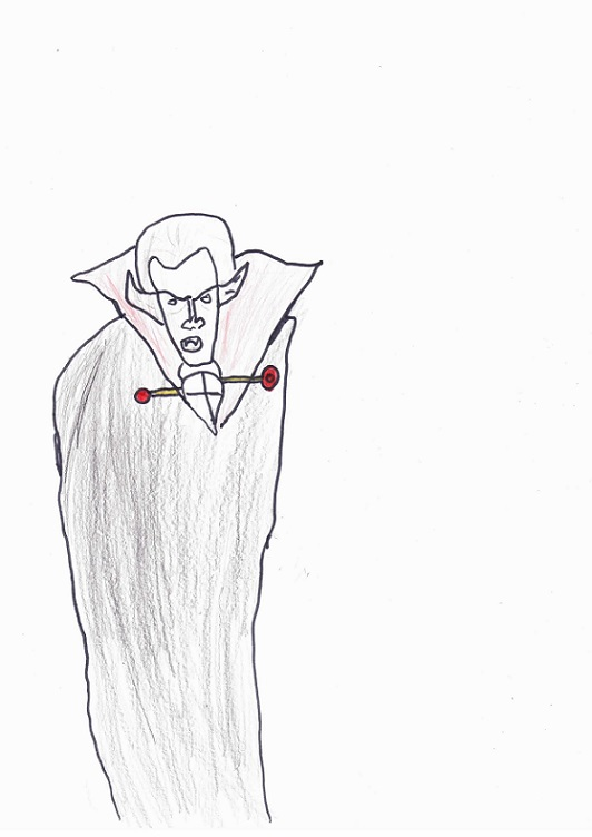 Le vampire Gabriel selon Daniel-Victor.