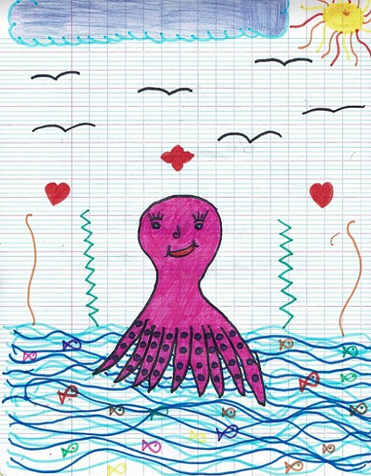 Un dessin de Wahnaeva.